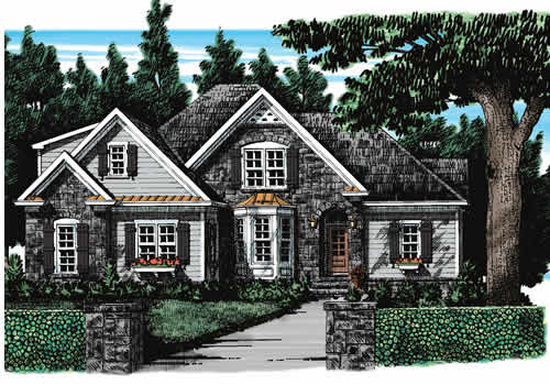 Greystone House Plan