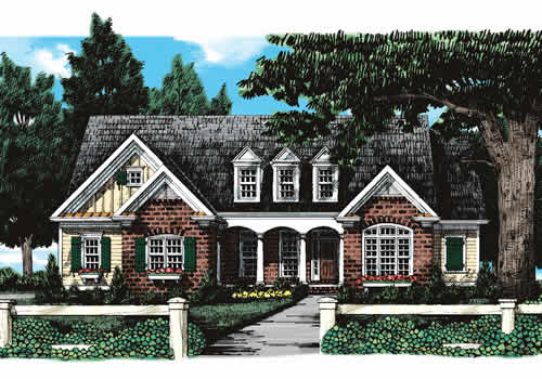 Homestead House Plan Elevation