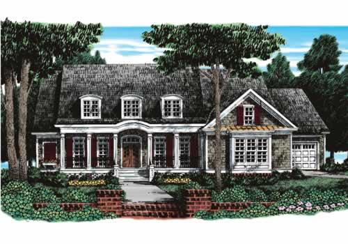 Nottaway House Plan Elevation