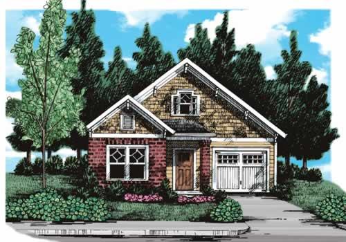 Tryon House Plan Elevation