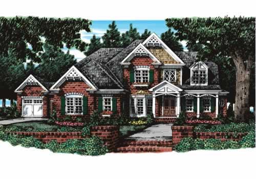Wedgewood House Plan Elevation