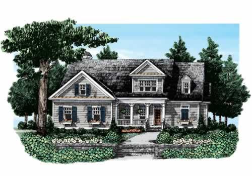Atherton House Plan Elevation
