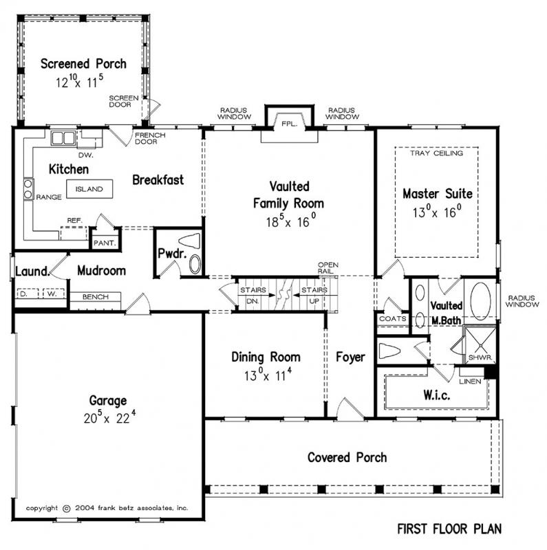 Azalea Park House Plan