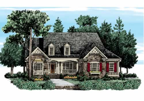 Barrington Hills House Plan