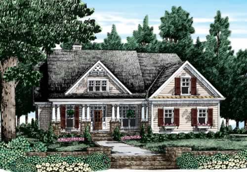 Macallen House Plan Elevation