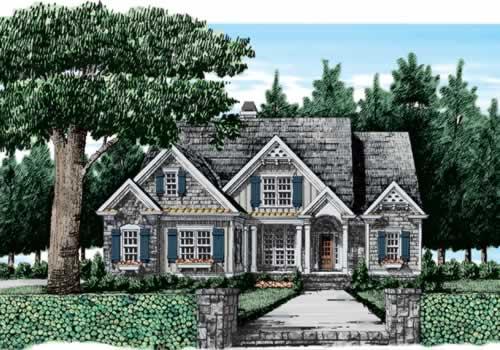 Riverton House Plan Elevation