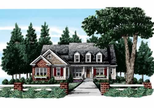 Gramercy House Plan Elevation