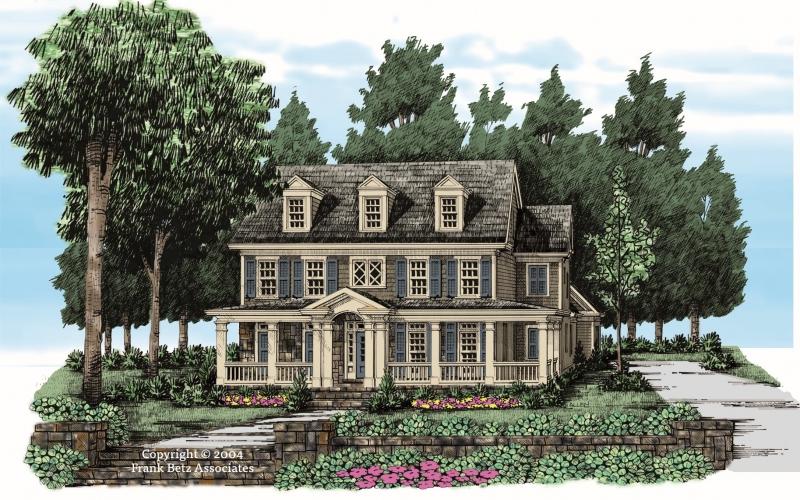 Brownsville House Plan Elevation