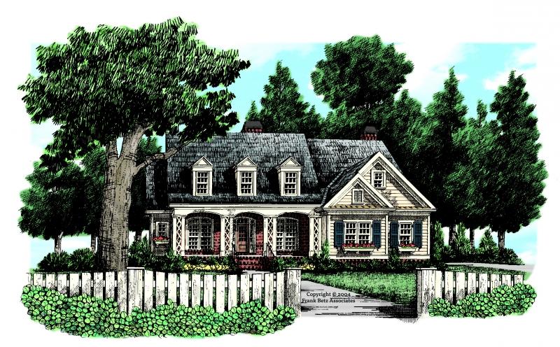 Waterman House Plan Elevation