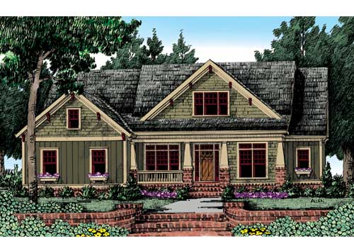 Altamonte House Plan Elevation