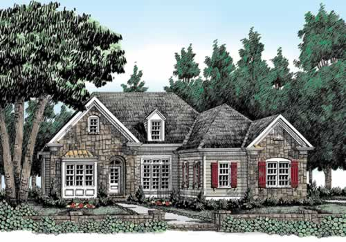 Woodbury Ridge House Plan