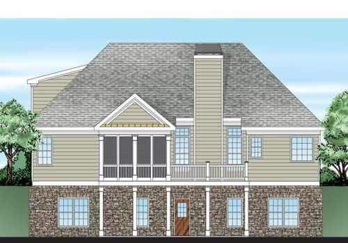 Woodbury Ridge House Plan