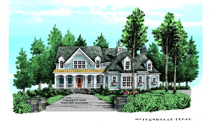 Providence Place House Plan Elevation