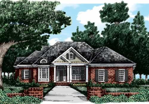 Longbrooke House Plan