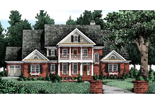 Keheley Pointe House Plan Elevation