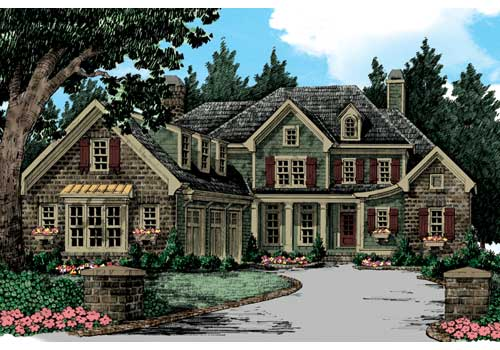 Westborough House Plan