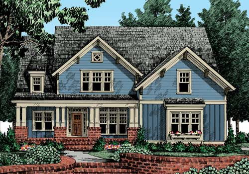 Capistrano House Plan Elevation