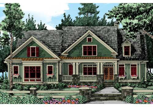 Walden Pond House Plan Elevation