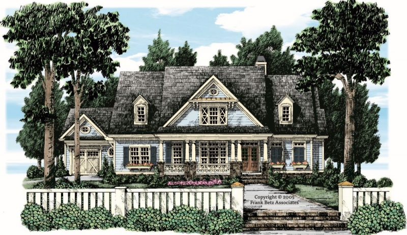 Manhasset House Plan Elevation