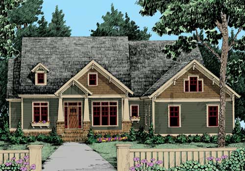 Pepperdine House Plan Elevation