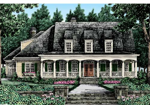 Kingsmill House Plan Elevation