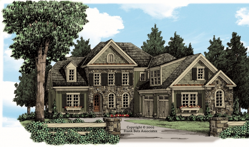 Keenes Pointe House Plan