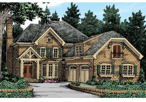 Ansley Cottage House Plan Elevation