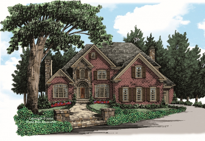 Hearthstone House Plan Elevation