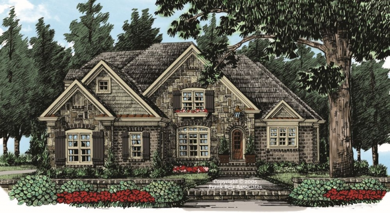 Heritage Pointe House Plan Elevation