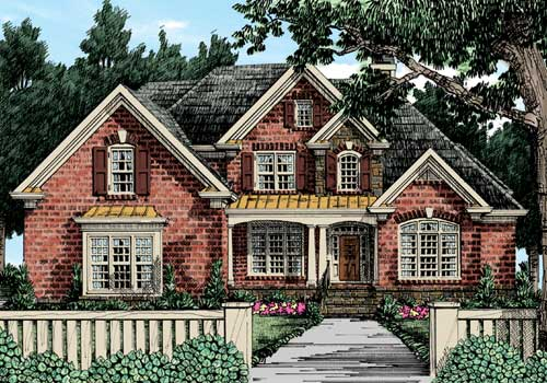Sterling Heights House Plan Elevation