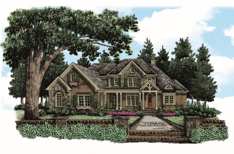 Willingham Manor House Plan Elevation