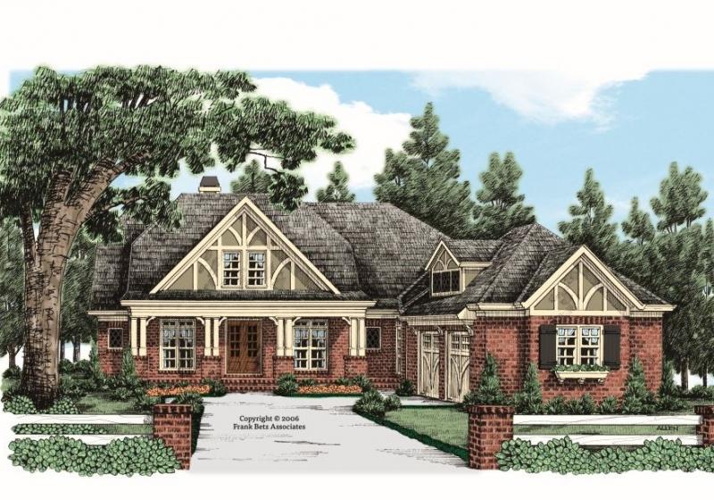 Blenheim House Plan Elevation