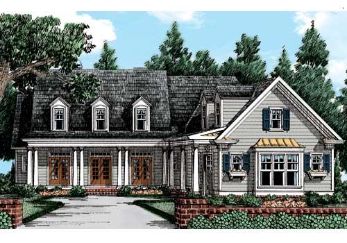 Brandywine House Plan Elevation