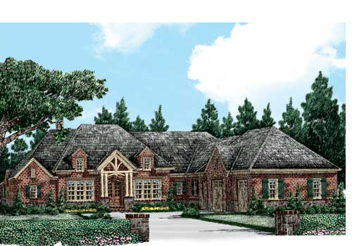 Glen Abbey House Plan Elevation