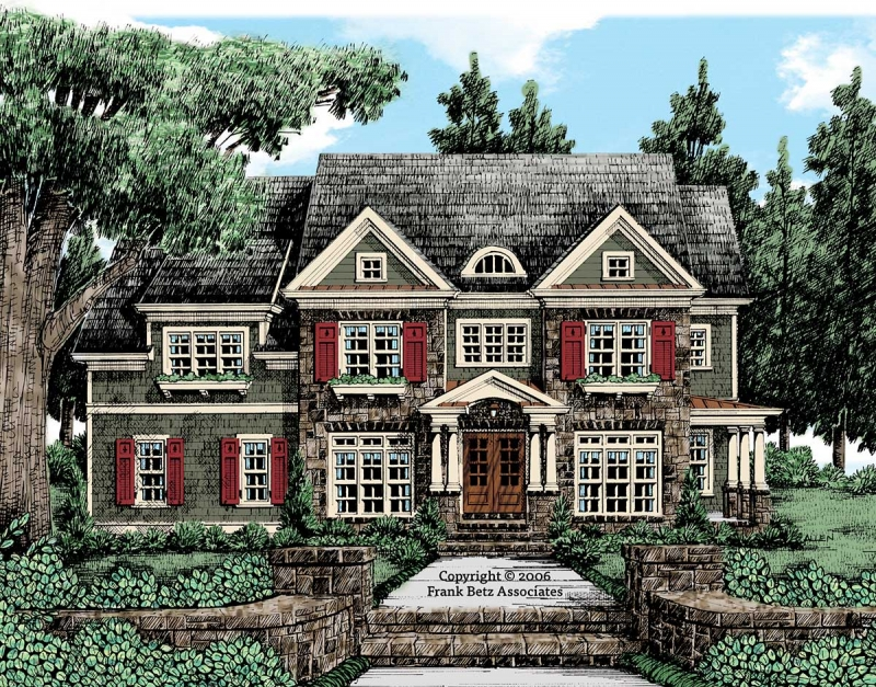 Lanier Pointe House Plan