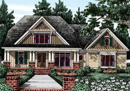 Lillian Ridge House Plan