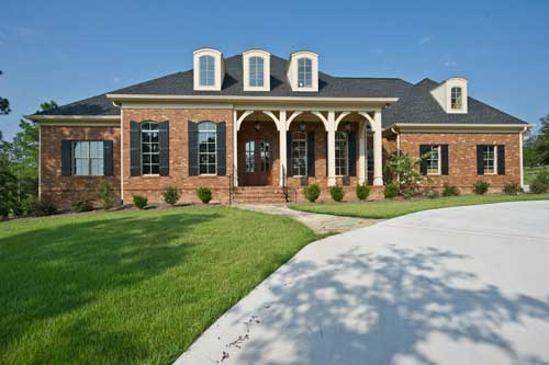 Orleans House Plan Photo