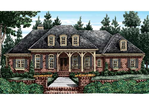 Orleans House Plan Elevation