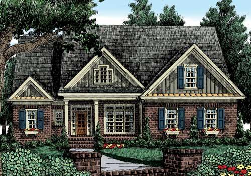 Preston Pointe House Plan