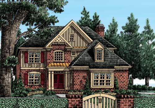 Saddleridge House Plan