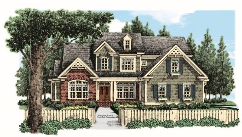 Sibley Park House Plan Elevation