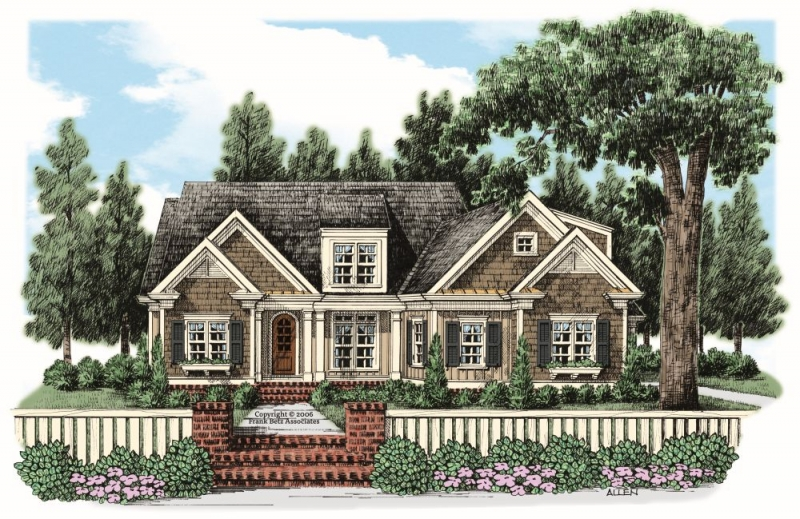 Springmill House Plan Elevation