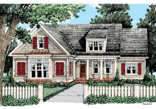 Summergrove House Plan Elevation