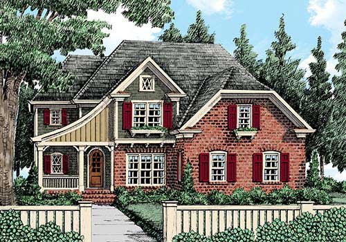Arbor Place House Plan Elevation