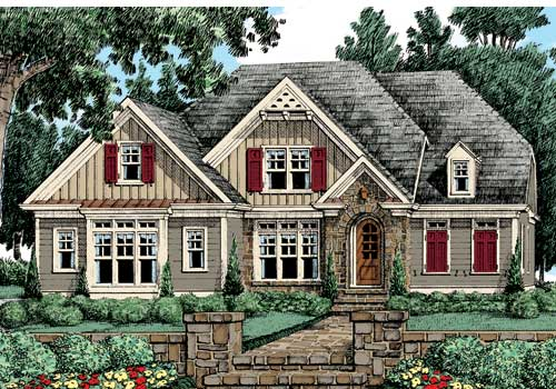 Castleberry House Plan