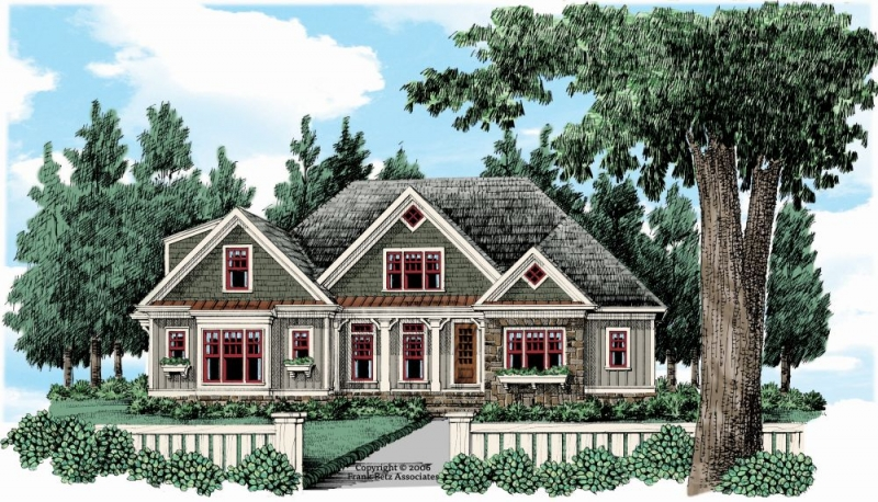 Glenview House Plan Elevation
