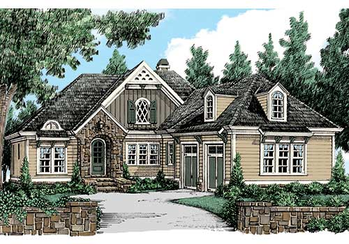 Heron Pointe House Plan Elevation