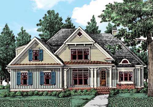Ridgewood House Plan Elevation