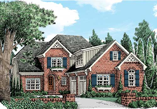 Roseglen House Plan Elevation
