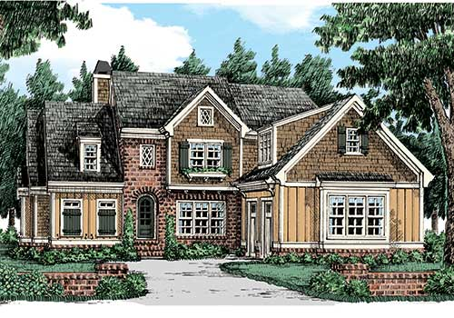 Wynter Park House Plan Elevation